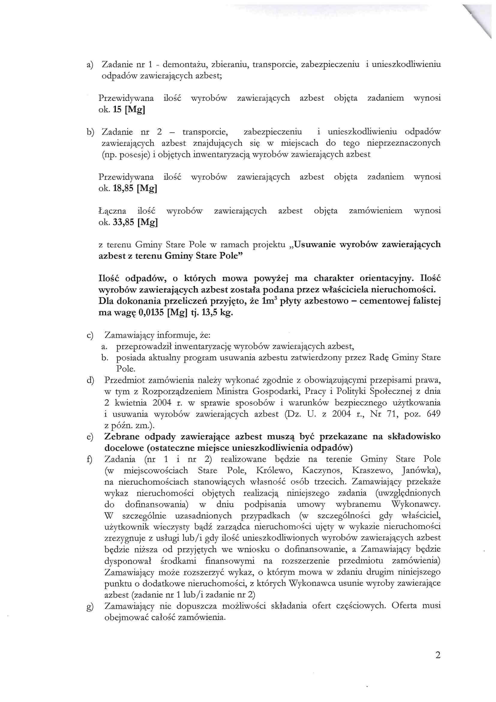 Zapytanie ofertowe z dnia 9 sierpnia 2019 r. - str. 2